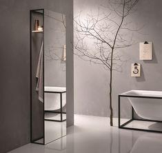 Specchio / porta accappatoio BETTELUX SHAPE Collezione Mobili bagno by Bette | design Tesseraux   Partner