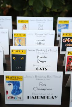 Bills, Bills, Bills- Playbills! A Broadway Bat Mitzvah