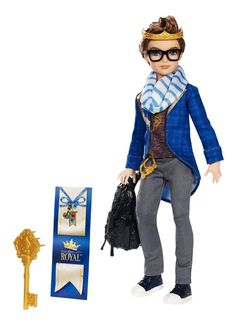 "EVER AFTER HIGH ""DEXTER CHARMING"" NEW - ROYAL GUY DOLL - IN STOCK #Mattel #DollswithClothingAccessories"