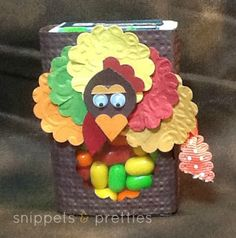 Turkey, tic-tac treats, say that 10 times fast!   Candy treats, thanksgiving candy,