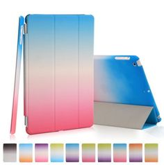 """iPad Pro (9.7"""") - Brilliant Rainbow Hues Smart Cover & Shell in Assorted Colors"""