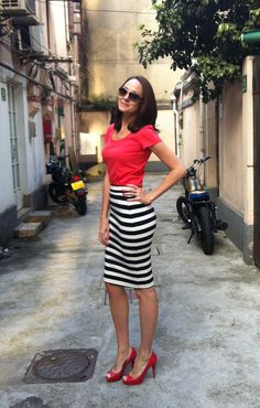 Stripes in Shanghai