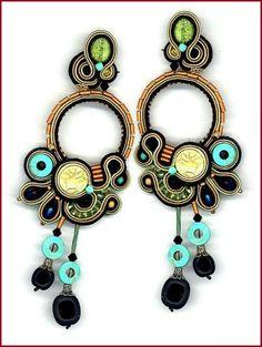 Dori Csengeri - Hand Embroidered Jewelry - Haute Couture Designer Jewellery