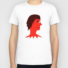 Monster with Men Head Illustration Kids t-shirt from Society6  Printed kids tshirt funny or creepy digital illustration in red tones showing a monster with no body and men head with glasses in white background ideal for kids or people who love cartoons with a touch of funny or dark style. #kidshirt, kids #t-shirts, #forkids tshirt, #kid tshirts drawing, tshirt for kids, printed kid tshirt online, printed kid tshirt buy online, printed kid tshirt society6, kids sock, illustration kid tshirt,