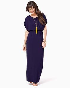 charming charlie | Farrah Flutter Maxi Dress | UPC: 100208079 #charmingcharlie