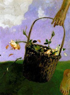the rose thief - Jamie Wyeth