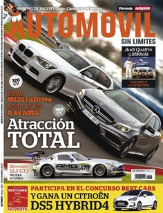"""Revista mensual do mundo do motor. Nas súas páxinas poden atoparse probas e comparativas de vehículos do panorama mundial, así como todo o relativo ao deporte de elite. Tamén temos """"Motor Clásico"""".  http://www.motorpress-iberica.es/area-coches/automovil/"""