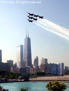 Chicago Air & Water Show - Every August
