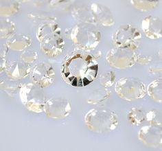 Clear Diamond Confetti 10mm