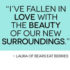 HANGING OUT WITH LAURA OF BEARS EAT BERRIES