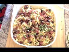 BEST EVER CREAMY BACON PASTA BAKE with Prosciutto recipe - Greg's Kitchen