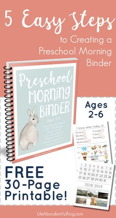 to Use a Preschool Morning Binder (PLUS all you need to get started!) How to Use a Preschool Morning Binder (PLUS all you need to get started!)How to Use a Preschool Morning Binder (PLUS all you need to get started! Preschool Binder, 3 Year Old Preschool, Homeschool Preschool Curriculum, Preschool Prep, Preschool Lesson Plans, Preschool At Home, Free Preschool, Preschool Classroom, Preschool Crafts
