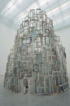 Glass Structure Chiharu Shiota,
