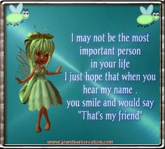 Thats my Friend! ♥ | Jewels Art Creation