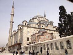 مسجد الفاتح فى اسطنبول