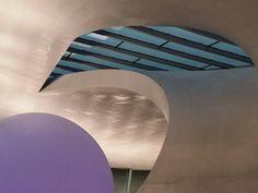 Futuristic look designed by Ben van Berkel.
