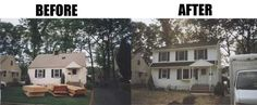 Adding an addition to your home obviously has its benefits. Doesn't even look like it was the same house! Second Story Addition, Ranch Style Homes, Two Story Homes, Home Additions, Finding A House, Interior Design Kitchen, Home Remodeling, Beautiful Homes, Flooring