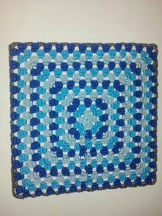Granny square blau tinten