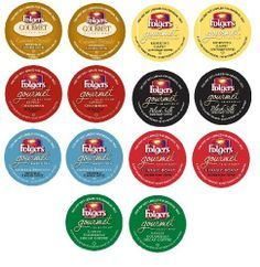 14 Count - Folgers Gourmet Selections Variety Coffee K Cup For Keurig K-Cup Brewers (7 different flavors) - http://thecoffeepod.biz/14-count-folgers-gourmet-selections-variety-coffee-k-cup-for-keurig-k-cup-brewers-7-different-flavors/
