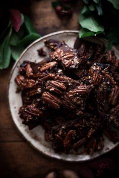 Maple Pecan Bark Cranberries, Orange Zest & Black Pepper - The Kitchen McCabe