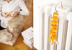 orange peel reuser/diffuser from http://www.tourdefork.net/2011/01/21/orange-peel-hanger/#more-1794