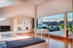 Maisonette Wohnung Offener Wohnbereich Dachschräge | Häuser 㒲 Einrichtung |  Pinterest | Modern Interiors, Stockholm And Interiors