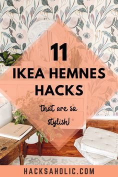 The Ikea Hemnes is a great piece of furniture, but it still could benefit from an upgrade. These Ikea Hemnes hacks are stunning. #ikeahemneshacks #hemneshacks #ikeahack Ikea Furniture Hacks, Ikea Hacks, Best Ikea, Hemnes, Kallax, Malm, Benefit, Make It Yourself, Inspiration