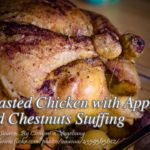Perfect for celebration is this roasted chicken with apples and chestnuts stuffing. Cooking is not as complicated as it looks because of the amount of Crab Dishes, Seafood Dishes, Seafood Recipes, Roshashana Recipes, Healthy Recipes, Bistek Recipe, Chicken Paella, Pork Roast In Oven, Swordfish Recipes