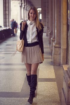 Torino streetstyle Rebecca minkoff outfit