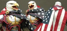 Four Horsemen Reveal Screaming Eagle and Flag Cape | Collector-ActionFigures