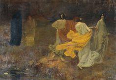 Paul-Albert Laurens  L'Automne, 1896     (ph Bernard Delorme)