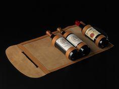 Serviette 3 bouteilles - Monde du Vin - LES MALLES - EPHTÉE