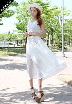 シーブリーズコンビネーションOPS - 韓国ファッション通販|OLCHANG《オルチャン》