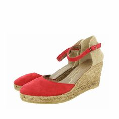 Shop Gaimo Obi Mid Wedge Suede Espadrilles at SPANISHOPONLINE.COM