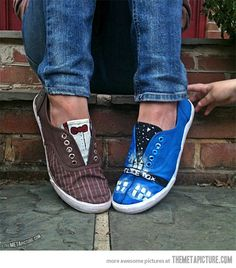 Must have Dr. Who sneakers… I want these!!! I wear 8.5 if anyone wonders lol