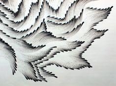 likeafieldmouse:    Judith Braun- Fingerings (2010-12) - Fingers dipped in charcoal
