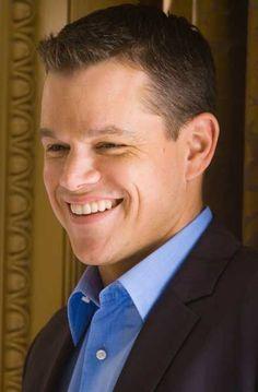 Matt Damon | Actors and actresses | Pinterest | Matt Damon, Smile and Actors