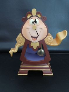 Beauty and the Beast- Want this clock for film room