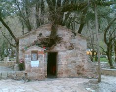 Greece, Cabin, House Styles, Home Decor, Paradise, Gardening, Travel, Greece Country, Decoration Home