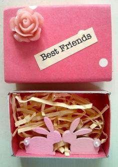 Best Friends Matchbox £3.00