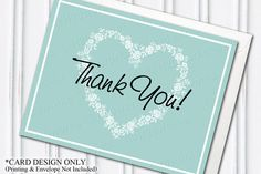 Blended Family Thank You Card Design  by H20WhiteLacePromises