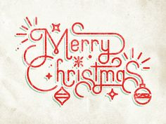 Dribbble - Merry Christmas by Greg Perkins