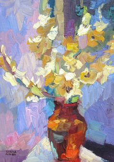 ❀ Blooming Brushwork ❀ - garden and still life flower paintings - Larisa Aukon