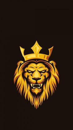 Lion Hd Wallpaper, Iphone Wallpaper Images, Cartoon Wallpaper Hd, Joker Wallpapers, Graphic Wallpaper, Black Wallpaper, Iphone Wallpapers, Lion Images, Lion Pictures