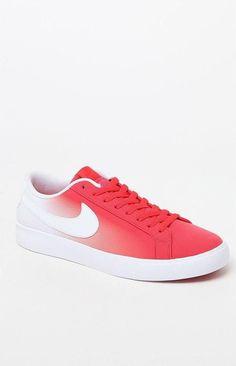 2731d718a35ef2 Nike SB Blazer Vapor Fade Red   White Shoes Nike Sb