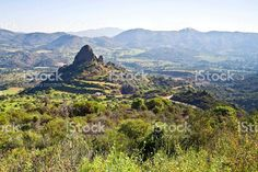 Large rock formations at Cyprus royalty free stockfoto