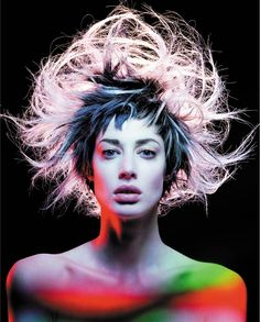 Collection: Avant Garde || Hair: Darren Ambrose || Photographer: Alex Cecchini || 2005
