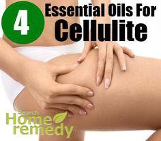 4 Essential Oils For Cellulite
