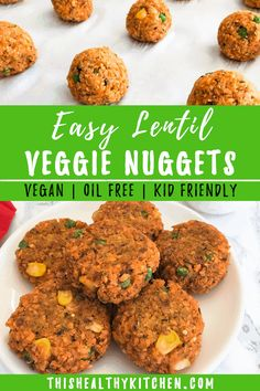 For the picky toddler (or adult) in your house, these lentil veggie nuggets are sure to be a winner! Perfectly tasty, yet made using wholesome ingredients. Vegetarian Nuggets, Veggie Nuggets, Kid Friendly Dinner, Kid Friendly Meals, Child Friendly, Low Calorie Recipes, Healthy Recipes, Diet Recipes, Healthy Food