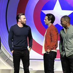 Proof That Chris Evans and Sebastian Stan Make 1 Marvelous Team
